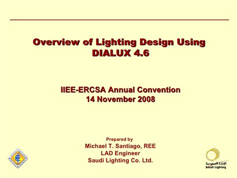 home lighting design calculations overview of lighting design using dialux 4 6