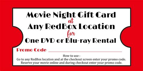 Printable Redbox Gift Cards - redbox printable gift tag redbox printable tag redbox teacher gift sweetdesignsbyregan