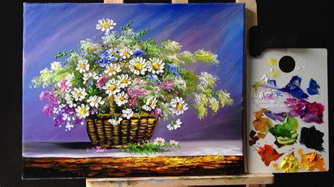 acrylic paint flower acrylic flower flower inspiration