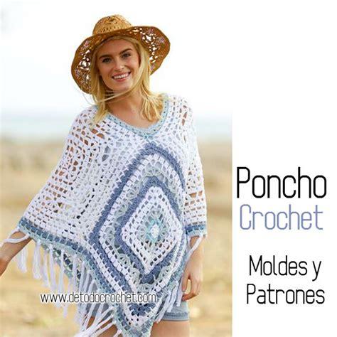 molde poncho de carnavalito de fiselina poncho crochet con moldes y patrones todo crochet