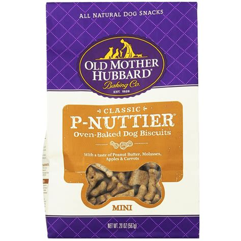 hubbard treats hubbard p nuttier biscuits mini 20 oz healthypets