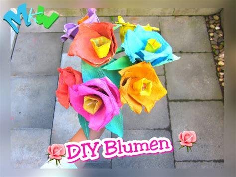 Basteln Mit Eierkarton Blumen by Blume Aus Einem Eierkarton Basteln Marrys