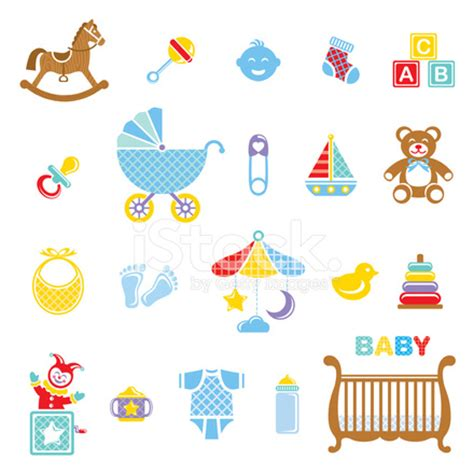 baby boy icon set stock vector freeimages.com