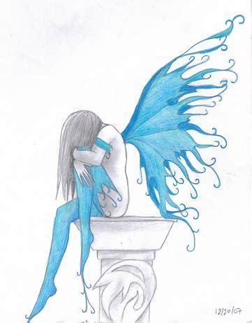 blue fairy by wolfkaje on deviantart