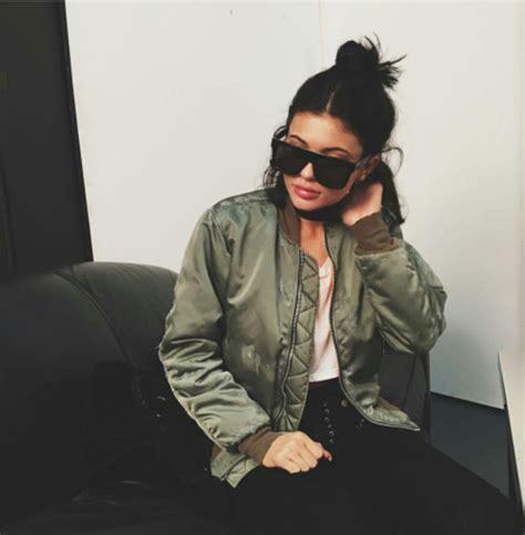 Padded Jacket 41756 sunglasses jenner bomber jacket khaki jacket