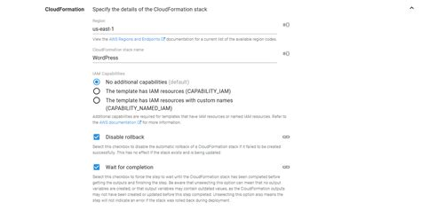 Deploy An Aws Cloudformation Template Octopus Deploy Aws Cloud Formation Template