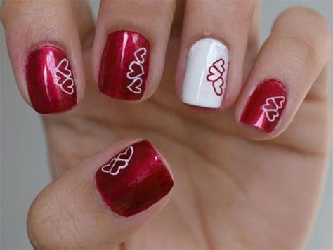 imagenes de uñas decoradas para san valentin u 241 as de san valent 237 n dise 241 os y decoraci 243 n 40 im 225 genes