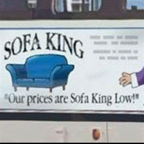 The Sofa King Smileydot Us Sofa King Advert