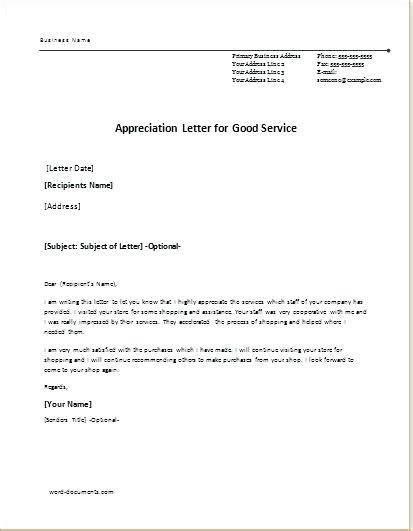 appreciation letter for an employee leaving appreciation letter appreciation letter for great