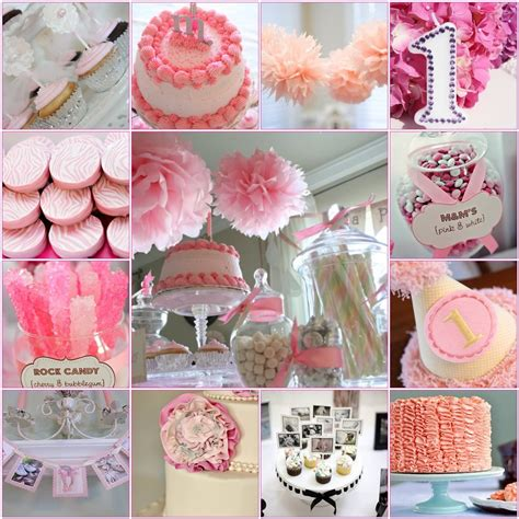 themes baby girl first birthday madly stylish events sweet first birthday inspiration