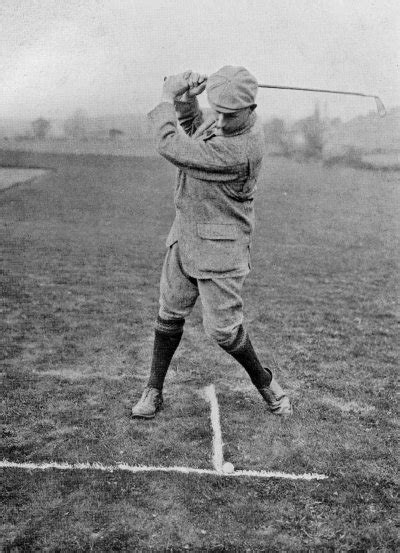 harry vardon swing there are only two types of player those by harry vardon