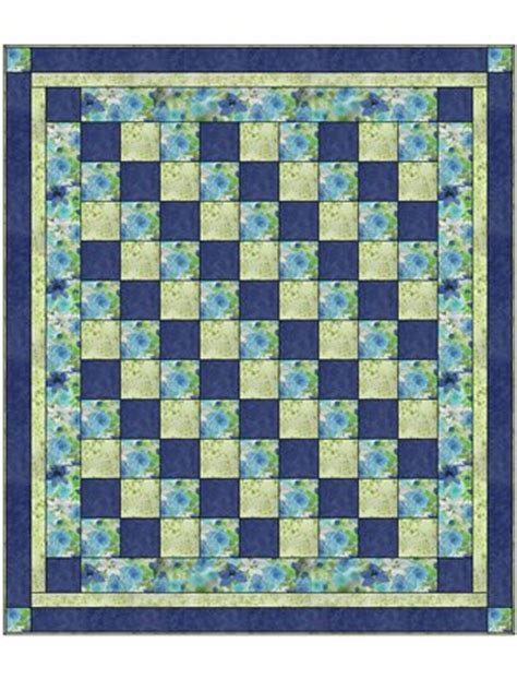 quilt pattern with three fabrics four square 3yd quilt pattern fabric cafe