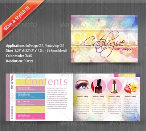 23 professional catalog design templates wakaboom