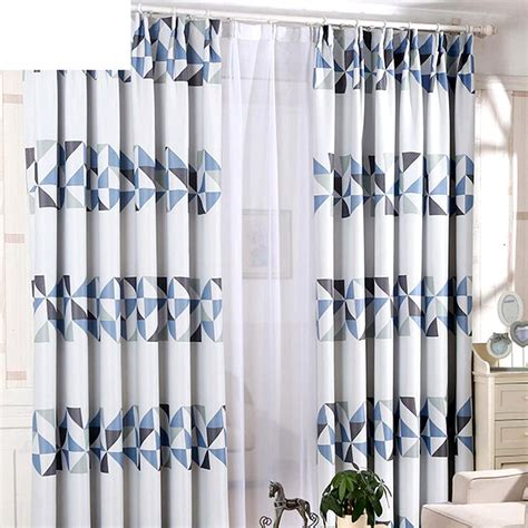 Blue Gray Curtains Blue Gray Curtains Blue Gray Curtains Townhome Winchester Blue And Gray Shower Curtain From