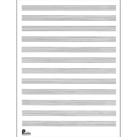 How To Make Manuscript Paper - manuscript paper for images