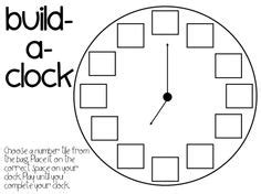 best photos of make a paper clock template make your own