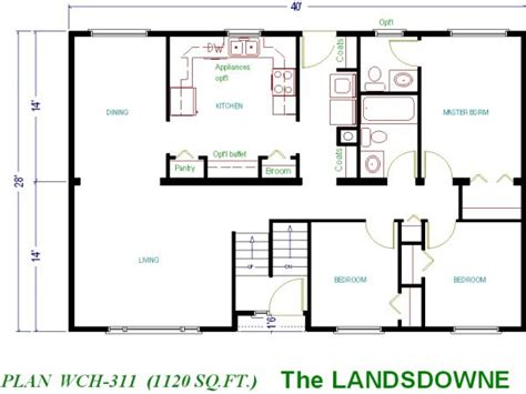 small home floor plans 1000 square foot house plans