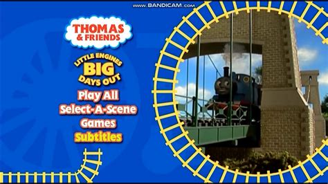 thomas friends uk dvd menu walkthrough  engines