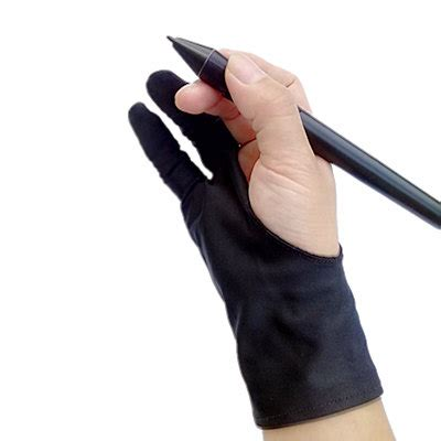 Drawing Glove by Safety Glove Artist Glove For Any Graphics Tablet Black 2