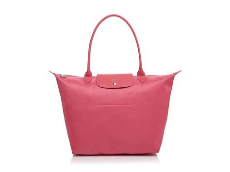 Longch Neo Medium Pink longch le pliage neo large tote in pink lyst