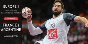 mondial de handball argentine en direct