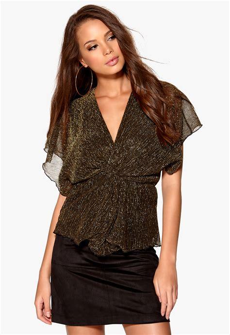 Blouse Melanie rut circle melanie blouse 051 black gold bubbleroom