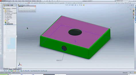 solidworks tutorial mold how to create a mold in solidworks 2010 solidworks share