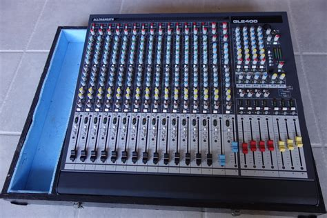 Mixer Allen Heath Gl2400 16 allen heath gl2400 16 image 1040624 audiofanzine