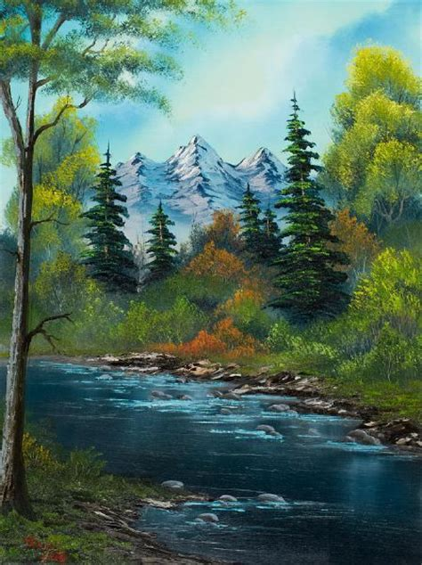 real bob ross painting for sale bobs bob ross and watches on