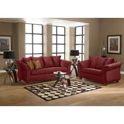 Sofa Clearance Outlet Adrian Red Sofa Value City Furniture