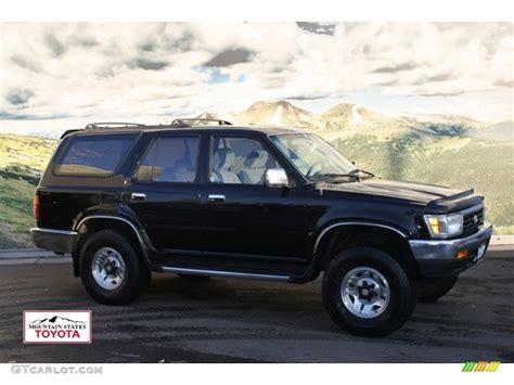1995 Toyota 4runner Sr5 V6 1995 Black Toyota 4runner Sr5 V6 4x4 57822953 Gtcarlot