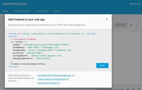 firebase demo tutorial tutorial web push notification using firebase