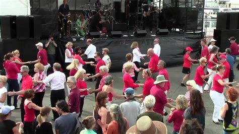 west coast swing flash mob west coast swing flash mob victoria bc 2015 youtube