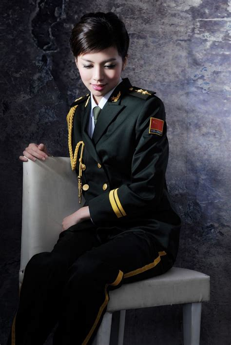 chinese military uniform girl chinese military women images china military uniform
