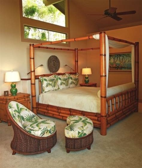 hawaiian style bedroom furniture 39 bright tropical bedroom designs digsdigs