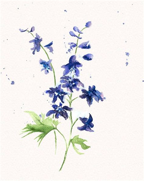 delphinium tattoo best 25 larkspur flower tattoos ideas on