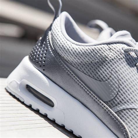 Nike Air Max Thea Grey nike air max thea textile wolf grey white mtlc