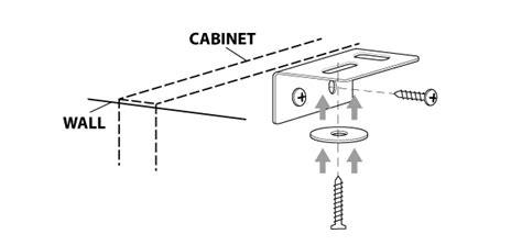 Black Kitchen Cabinet solid wood worktop installation instructions