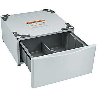 Kenmore Pedestal Kenmore 51122 13 7 Quot Laundry Pedestal W Storage Drawer White