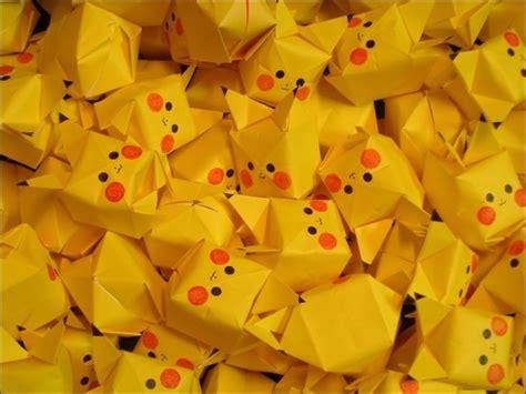 Pikachu Origami Cube - 피카츄 종이접기 귀여운 피카츄 종이접기 신기한 피카츄 종이접기