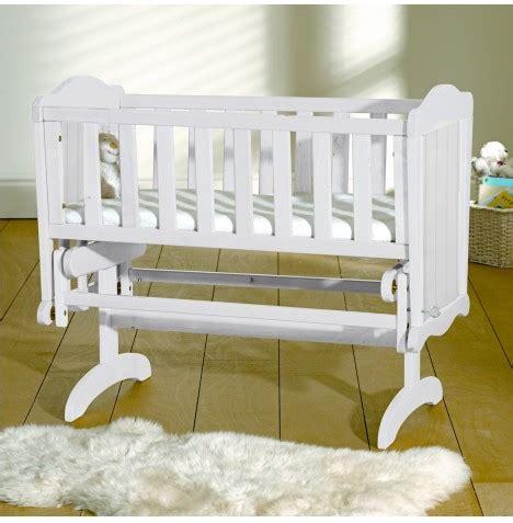 Crib Mattress Safety Saplings White Gracie Glider Crib Baby Cradle Safety Crib Mattress Ebay