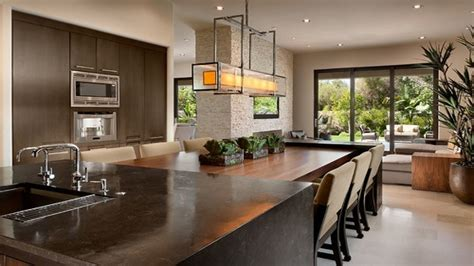 kitchen islands with tables attached kitchen island with attached dining table ideas