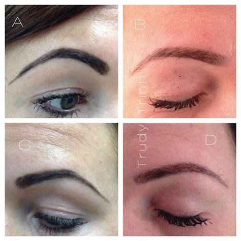 semi permanent tattoo 6 months 21 best semi permanent eyebrow hairstroke images on