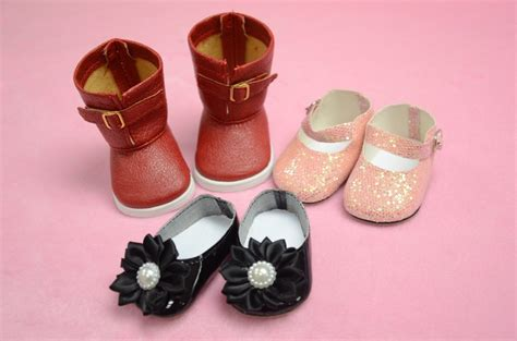 New Design Doll Shoes | free shipping new design handmade shoes for 18 inch