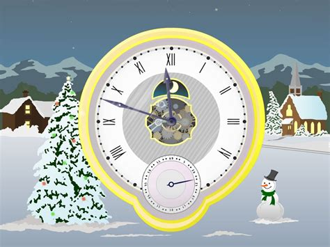 clock themes for pc desktop christmas clock screensaver free download christmas