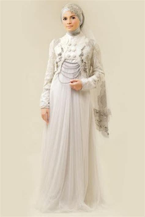 desain gaun pengantin muslimah elegan busanapengantin busana pengantin