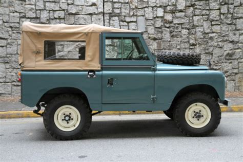 land rover series ii 1962 land rover series ii santana land rover