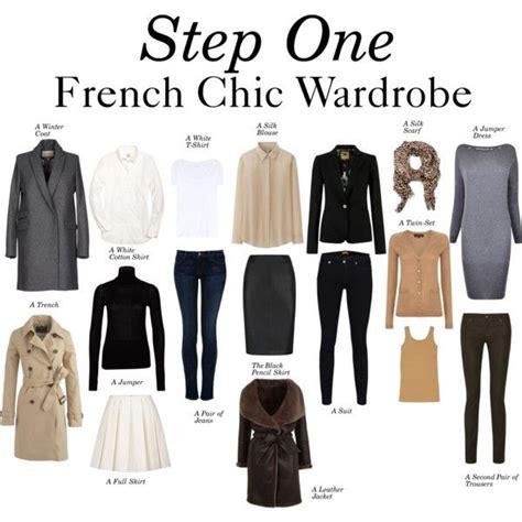 french minimalist wardrobe quot step one french chic wardrobe quot by charlotte mcfarlane