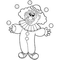 clown 187 coloring pages 187 surfnetkids