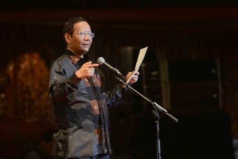 Politik Hukum Di Indonesia Mohmahfud Md mahfud md dinilai tepat dukung prabowo hatta republika